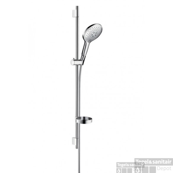 Hansgrohe Raindance Select Air Glijstangset 90 Cm. Unica's Chroom