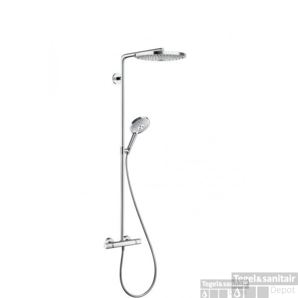 Hansgrohe Raindance Select S300 2jet Showerpipe Chroom