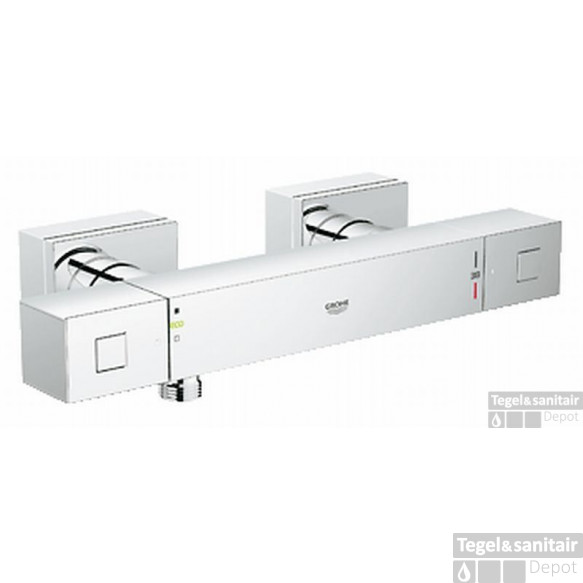 Grohe Grohtherm Cube Douchethermostaat Met Kopp. Chroom