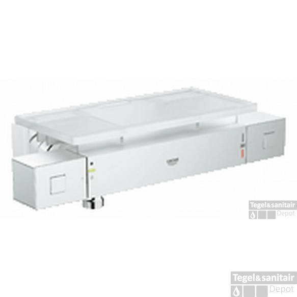 Grohe Grohtherm Cube Douchethermostaat Met Tray En Kopp. Chroom