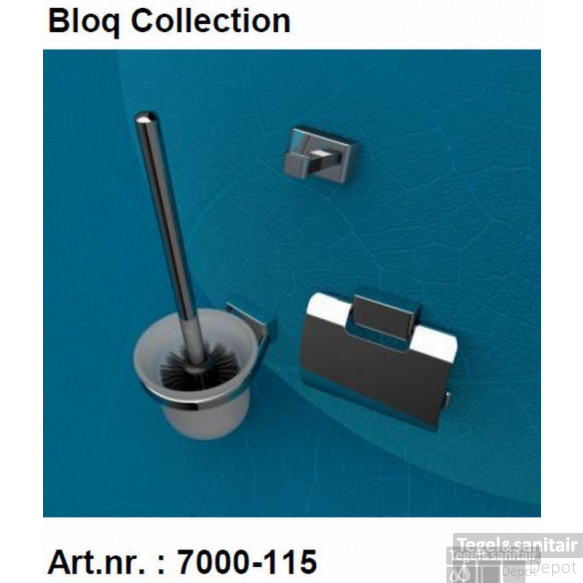 Geesa Bloq Accessoires Pack 7008,7010,7011+extra Zw.borstel