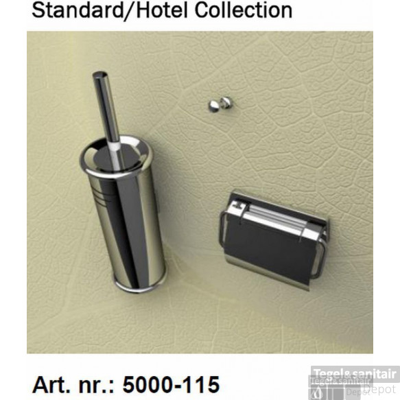 Geesa Standard Collection Accessoires Pack 5144,5115,2801+extra Zw.borstel
