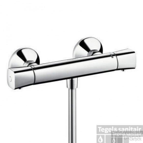 Hansgrohe Ecostat S Universele Douchethermostaat 15 Cm. Chroom