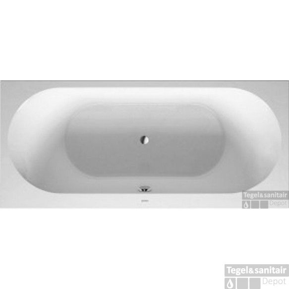 Duravit Darling New Bad 180 X 80 Cm. Zonder Poten Wit