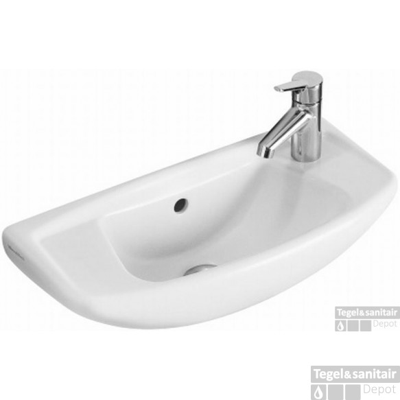 Villeroy & Boch  Compact Fontein 53x23 Cm. Wit