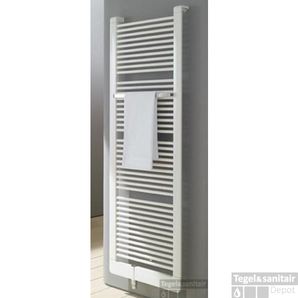 Kermi Credo V Radiator 1889x621 Cm. As=1188 1017w M/therm.knop Glans Zilver