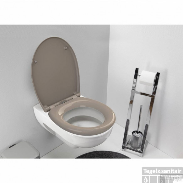 Wc-Zitting Allibert Fally Taupe Soft-Close