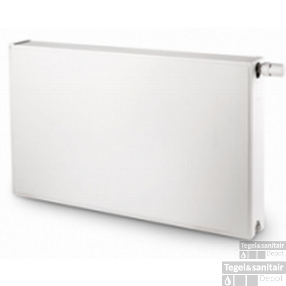 Vasco Flatline T22 Radiator 1200x600 Mm. As=0098 1970w Wit S600
