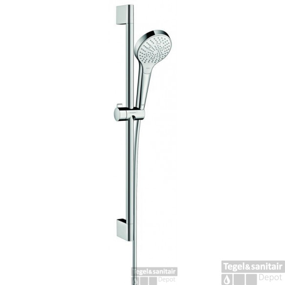 Hansgrohe Croma Select S Glijstangset 65 Cm. Multi Wit-chroom