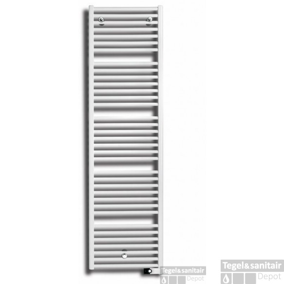 Vasco Iris Hd-el Electrische Radiator 500x1330 N26 Wit Ral 9016