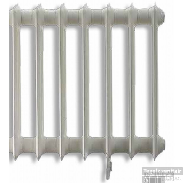 Vasco Vintage 50 Radiator 1378x600 Mm. N27 As=2367 2538w Wit Ral 9016