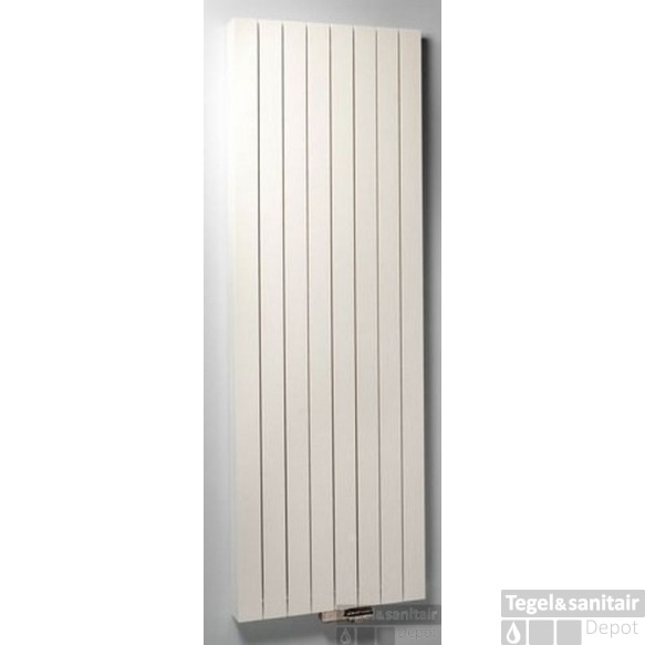 Vasco Zaros V75 Design Radiator 375x1600 N5 1159w As=0066 Wit S600