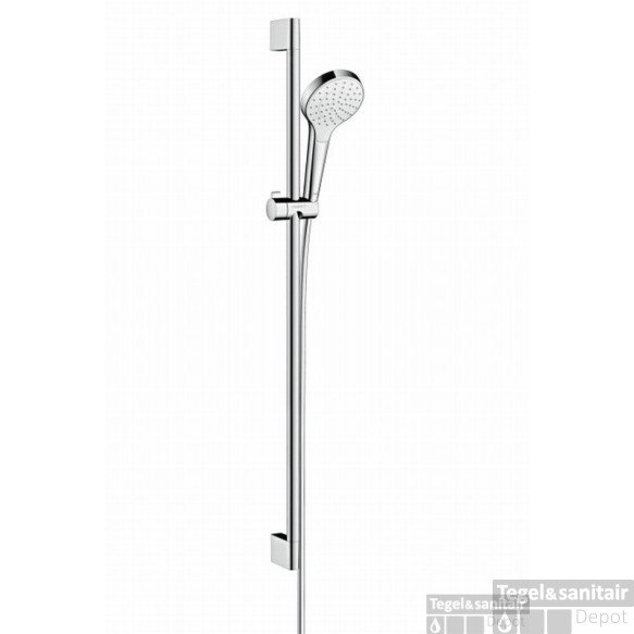 Hansgrohe Croma Select S 1jet Glijstangset 90 Cm. Chroom