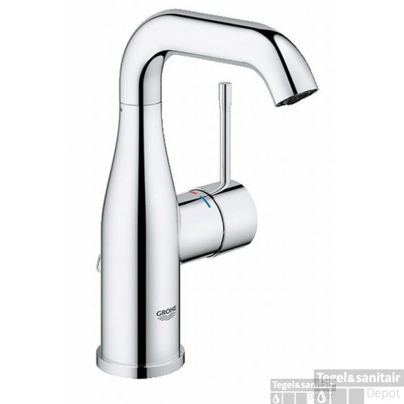 Grohe Essence New M-size Wastafelkraan Met Ketting Chroom