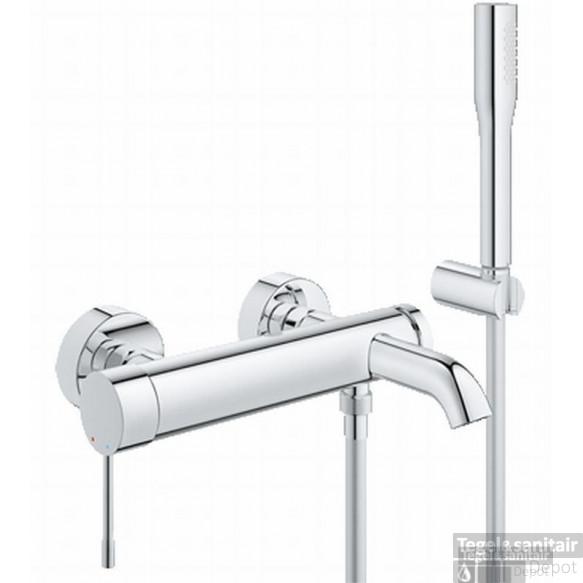 Grohe Essence New Badkraan Met Doucheset Chroom