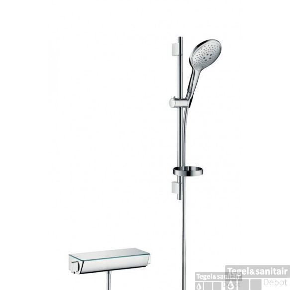 Hansgrohe Ecostat Select Thermostaat Met Raindance 150 3jet Air/unica's 65 Chroom