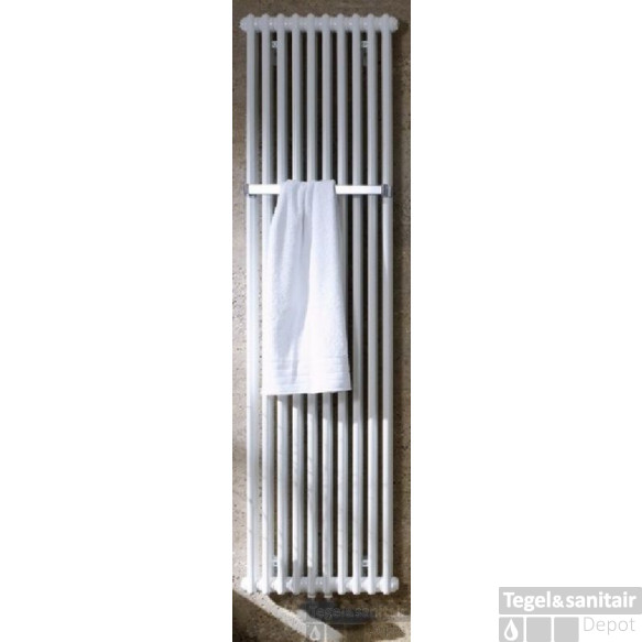 Zehnder Charleston Bar Radiator 669x1800 Mm. As=onderzijde 3470 1736w Wit Ral 9016