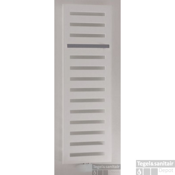 Zehnder Metropolitan Bar Electrische Radiator 400x1225mm.as=onderzijde 469w Wit Ral 9016