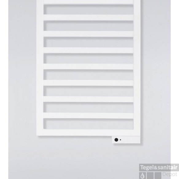 Zehnder Quaro Electrische Radiator 600x1835 Mm. Wit Ral 9016