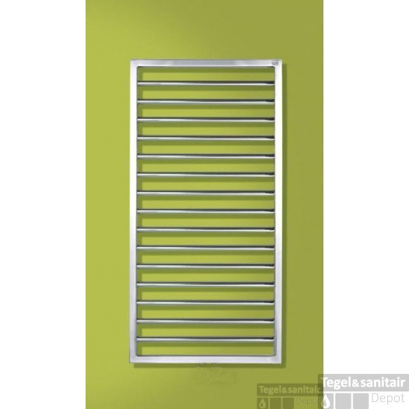 Zehnder Subway Radiator 600x1837 Mm. N24 As=s012 633w Rvs