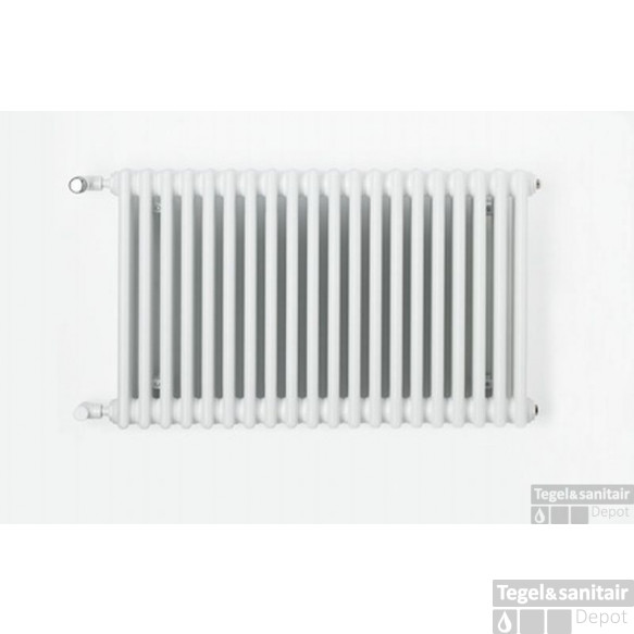 Zehnder Charleston Radiator 600x460 Mm. As=onderzijde 453w Wit Ral 9016
