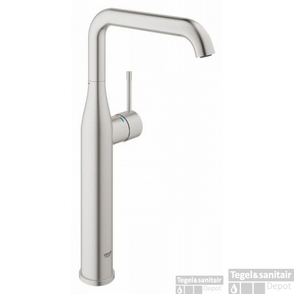 Grohe Essence New Xl-size Wastafelkraan Zonder Waste Supersteel