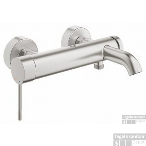 Grohe Essence New Badkraan Supersteel