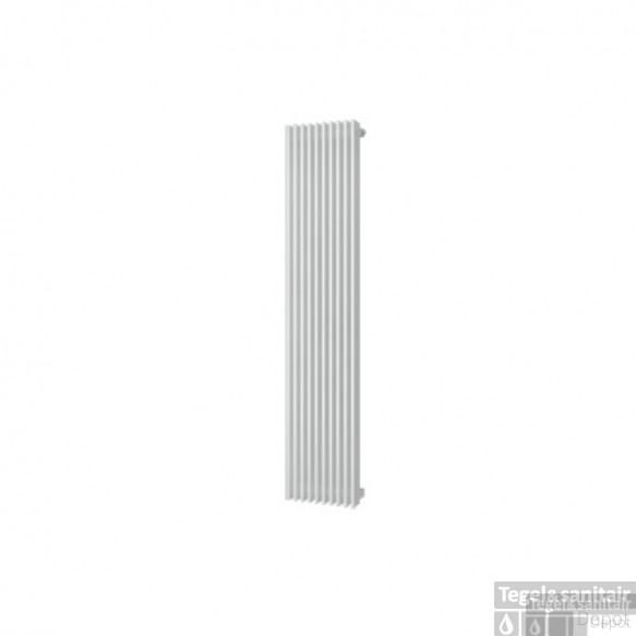 Designradiator Plieger Antika Retto 1111 Watt Middenaansluiting 180x29,5 cm Wit