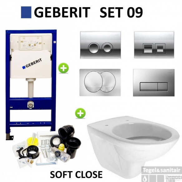 Geberit up100 set09 Brussel met Delta drukplaten