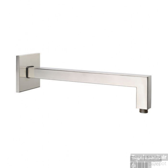Huber Zen douche-arm muurbevestiging 350mm RVS SS013430.D2