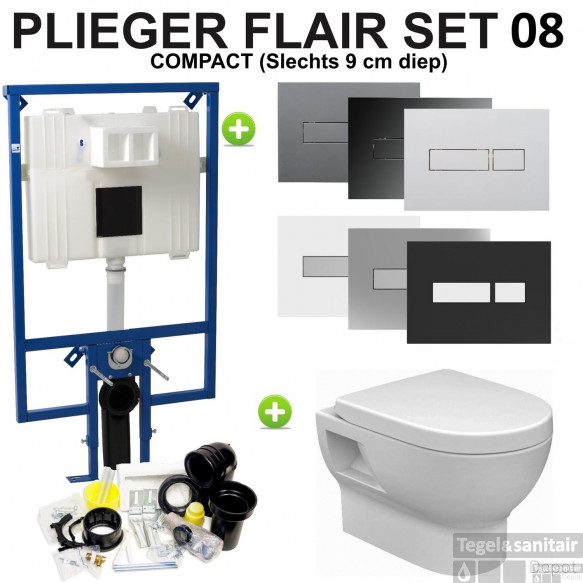 Plieger Flair Compact set08 Mercurius