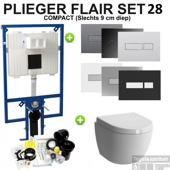 Plieger Flair Compact set28