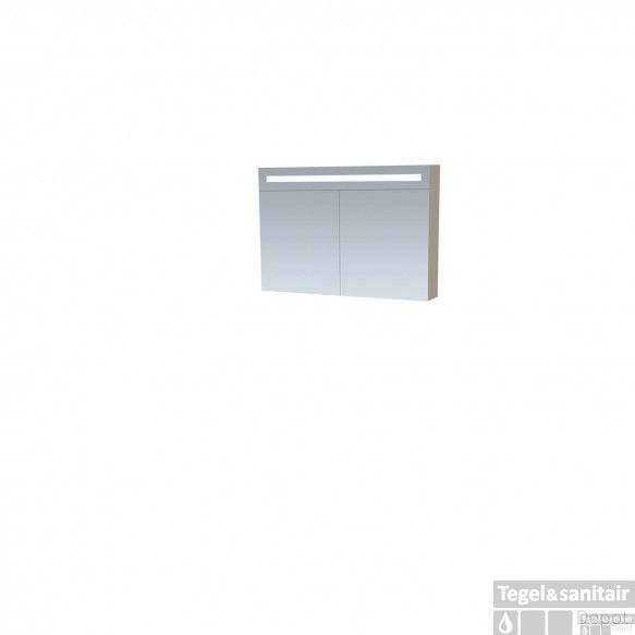 Spiegelkast Double Face EX 100 Taupe