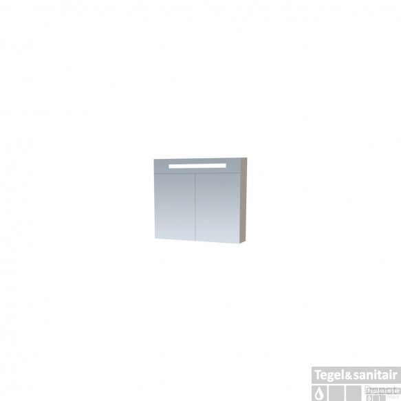 Spiegelkast Double Face EX 80 Taupe