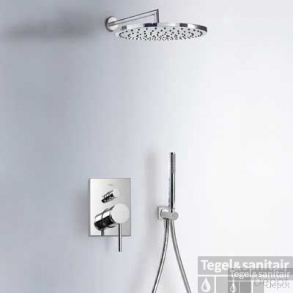 Tres Mono-Term inbouw doucheset thermostatisch chroom 06218003