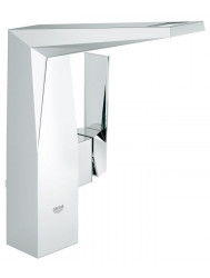 Grohe Allure Brilliant Wastafelkraan Met Waste Hoog Chroom
