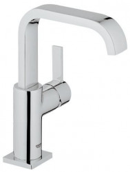 Grohe Allure Wastafelkraan Hoge Uitloop Chroom