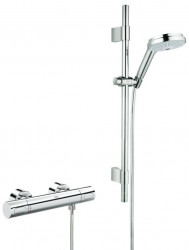 Grohe Grohtherm 3000 Cosmopolit Thermostaat Comfortset Chroom