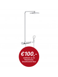 Rainshower Systeem SmartControl 360 DUO Douchesysteem met thermostaatkraan (Chroom)
