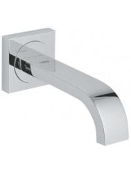 Grohe Allure baduitloop wand, chroom