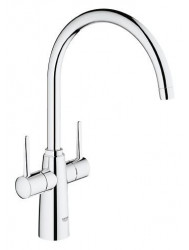 Grohe Ambi Keukenkraan Hoog Model 377 Mm. Chroom