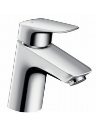 Hansgrohe Logis Wastafelkraan 70 Push Open Waste Chroom