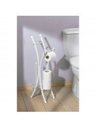 Toiletrolhouder Set Allibert Corfou Wit