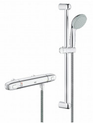 Grohe Grohtherm 1000 New Douchethermostaat Hoh 12 Cm. Met Comfortset Chroom