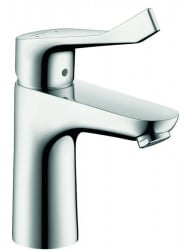 Hansgrohe Focus Care 100 Wastafelkraan Zonder Waste Chroom