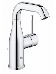Grohe Essence New M-size Wastafelkraan Met Waste Chroom
