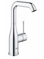 Grohe Essence New Wastafelkraan L-size Zonder Waste Chroom