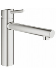 Grohe Concetto Keukenkraan Met Medium Uitloop Supersteel