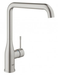 Grohe Essence New Keukenkraan Met L-uitloop Supersteel