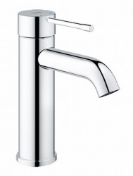 Grohe Essence New S-size Wastafelkraan Zonder Waste Chroom